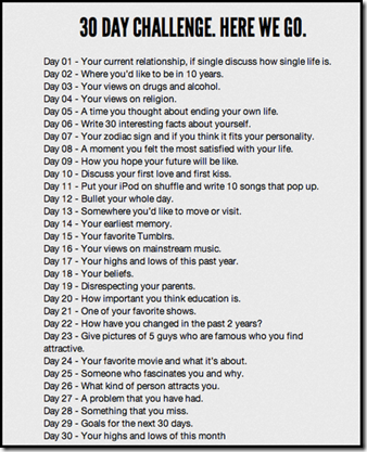 30 Day Challenge   My 10 Year Plan Kelocitycom A6RbOkTF