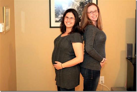 Kelley and Katie_preggo_1.15.12