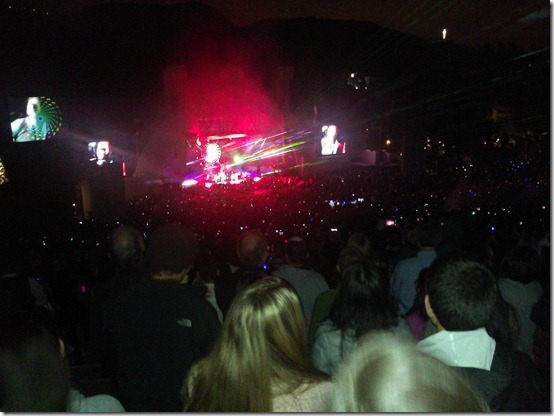 Coldplay at Hollywood Bowl (4)
