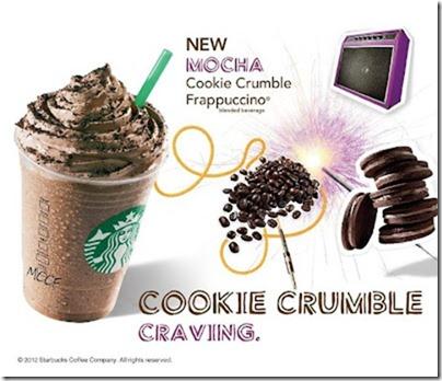 Starbucks-Cookie Crumble