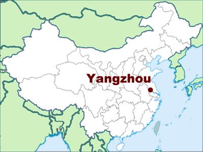 yangzhou-map